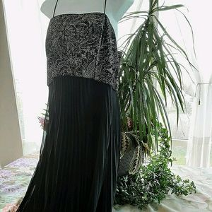 Wedding/Evening Gown with Pleated Skirt
